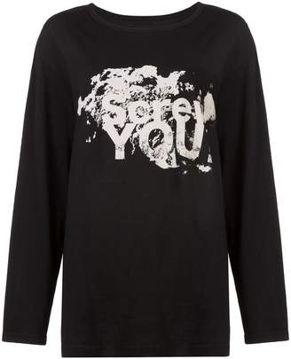 Yohji Yamamoto Screw You sweatshirt