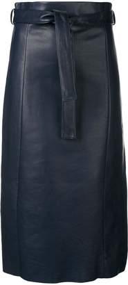 Drome high-waisted midi skirt