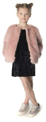 Appaman Faux Fur Coat (Toddler, Little Girls, & Big Girls)