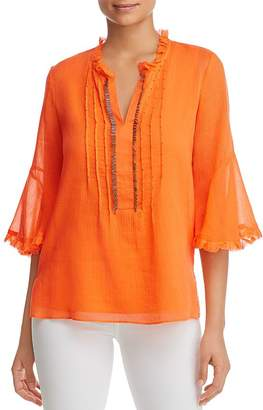 Le Gali Pipa Embellished Gauze Blouse - 100% Exclusive