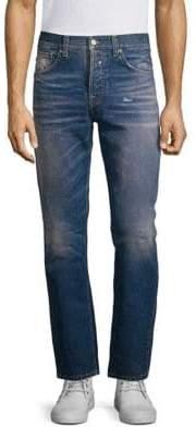Nudie Jeans Green Sleepy Sixteen Jeans
