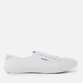 Superdry Women's Low Pro Canvas Trainers - Optic White