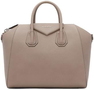 Givenchy Taupe Medium Antigona Bag $2,450 thestylecure.com