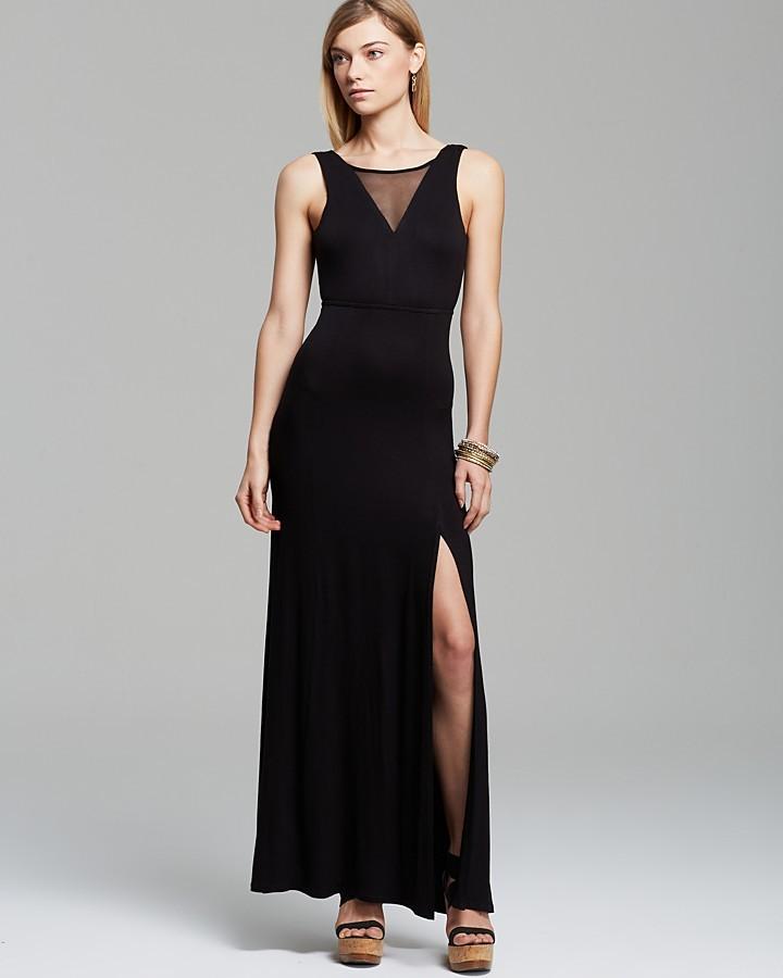 AQUA Maxi Dress - Illusion