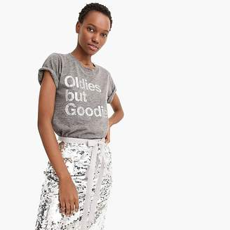 "J.Crew ""Oldies but goodies"" T-shirt"
