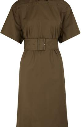 Bottega Veneta Short-sleeved midi dress