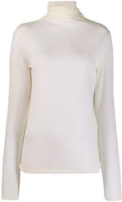 Semi-Couture Semicouture turtleneck sheer jumper