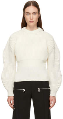 Chloé White Chunky Wool Sweater