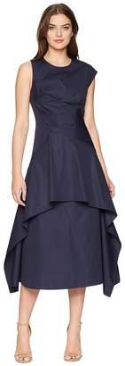 Sportmax Ottobre Wrap Front High-Low Dress Women's Dress