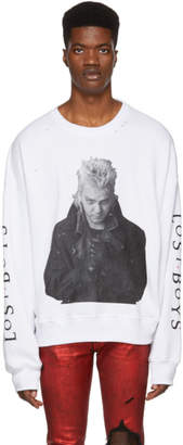 Amiri White The Lost Boys Sweatshirt