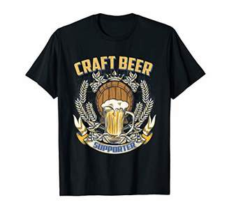 Craft Beer Supporter Beer Lover Funny T-Shirt