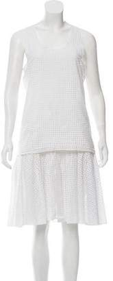 Rag & Bone Eyelet A-Line Dress