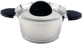 """Berghoff 6.25"""" Stainless Steel Covered Casserole Dish - Black"""