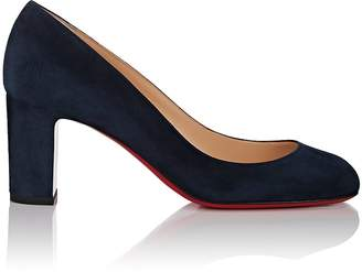 Christian Louboutin Women's Cadrilla Suede Pumps