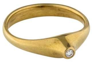 Tiffany & Co. 18K Elsa Peretti Diamond Ring