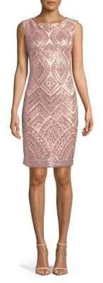 Vince Camuto Sequin-Embellished Dress