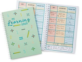 Financial Learning Ledger for Kids $16.95 thestylecure.com