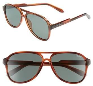 Quay Magnetic 55mm Anti-Reflective Polarized Sunglasses