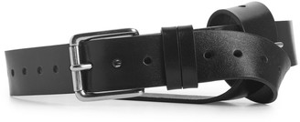 Arket Perforated Leather Belt
