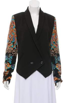 Twelfth Street By Cynthia Vincent Shawl-Lapel Double-Breasted Blazer w/ Tags