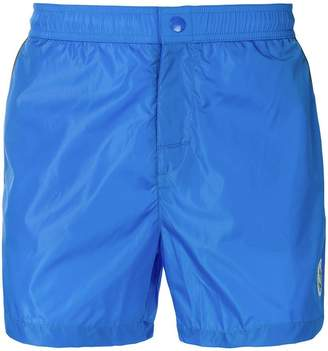 Moncler piped swim shorts