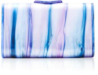 Edie Parker Mini Laura Tie-Dye Acrylic Clutch