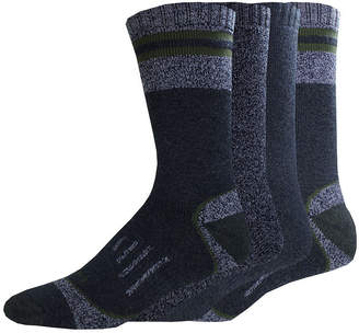 Dickies Mens 4-Pk. Moisture Control Boot Crew Socks