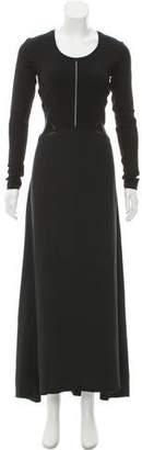 Thakoon Silk-Wool Blend Maxi Dress