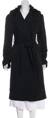 Alexander Wang Hooded Wool Coat
