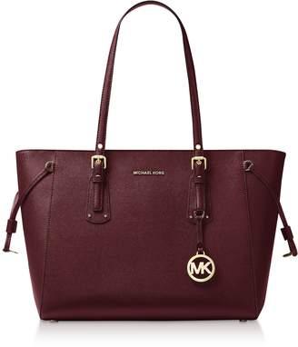 Michael Kors Voyager Medium Top-Zip Tote Bag