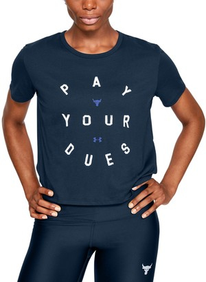 Under Armour Women's Project Rock Dues Graphic T-Shirt