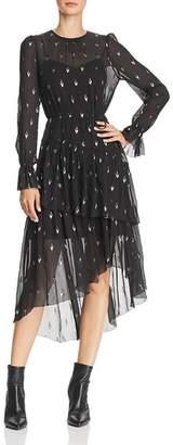 Joie Maylene Tiered Midi Dress