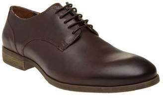 Sole New Mens Brown Eldon Leather Shoes Lace Up