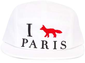 MAISON KITSUNÉ 'I Paris' cap