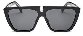Givenchy Men's Flat Top Square Sunglasses, 58mm