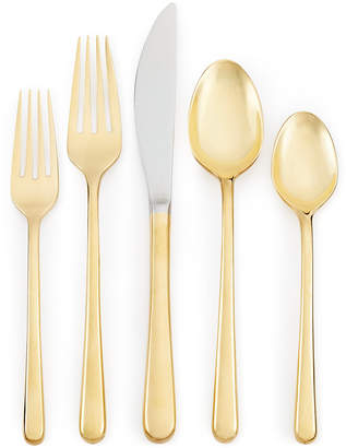 Cambridge Silversmiths Samantha Gold 20-Pc. Flatware Set, Service for 4