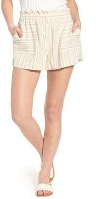 BP Stripe Linen Blend Shorts