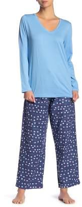 Hue Light it Up 2-Piece Pajama Set