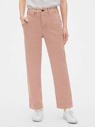 Gap High Rise Straight Chinos