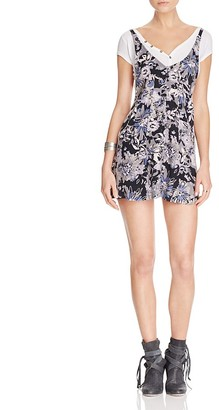 Free People Jump and Jive Jumper Dress $108 thestylecure.com