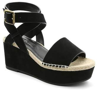 Kensie Teal Platform Wedge Sandal $89 thestylecure.com