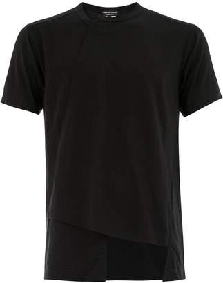 Comme des Garcons asymmetric short sleeve T-shirt