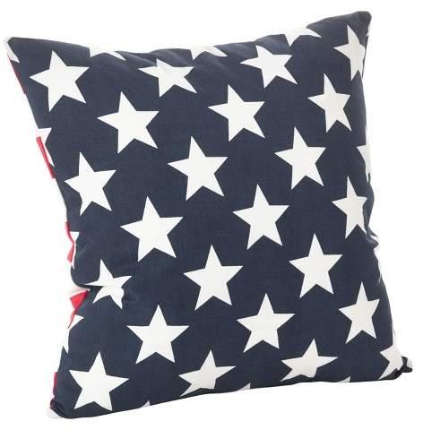 Saro Lifestyle Stars & Stripes Pillow
