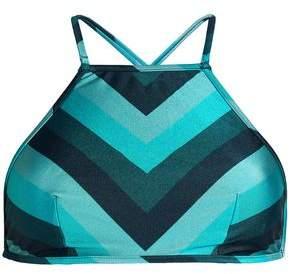 Zimmermann Printed Bikini Top