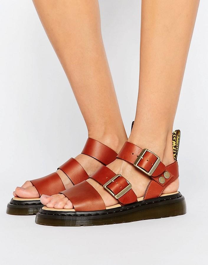 Dr. MartensDr Martens Gryphon Strap Flat Sandals