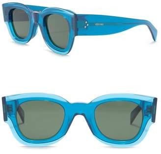 Celine 45mm Square Sunglasses