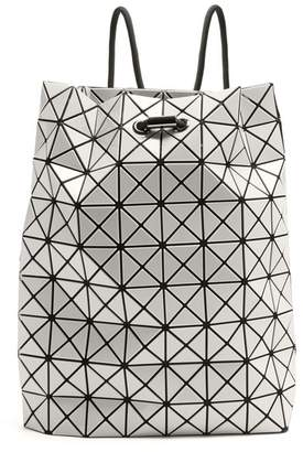 Bao Bao Issey Miyake Wring Drawstring Rope Backpack - Womens - White