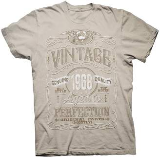 76c6d3d30ea at Amazon Canada · Shirt Invaders ShirtInvaders Vintage Aged Perfection  1968 - Distressed Print - 50th Birthday Gift T-