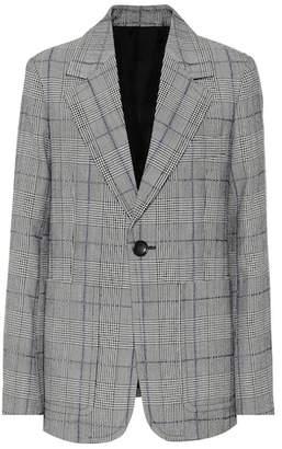 Joseph Annab checked wool blazer