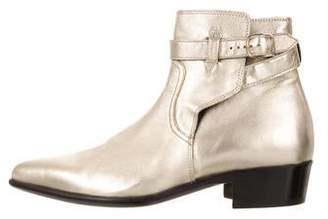 9ae6aa4f Mens Metallic Leather Ankle Boots | over 100 Mens Metallic Leather ...